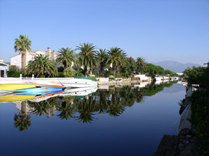 Kanal in AMPURIABRAVA
